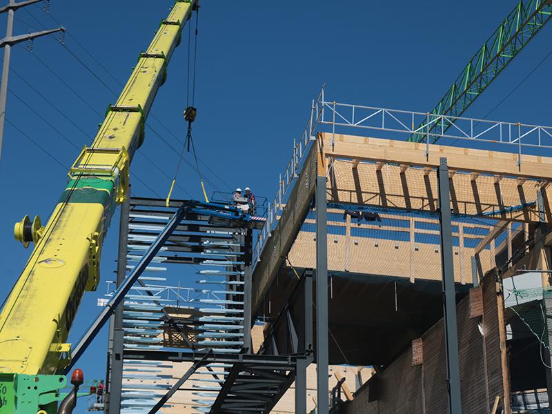 Schilliger Holz AG baut neues Leimwerk