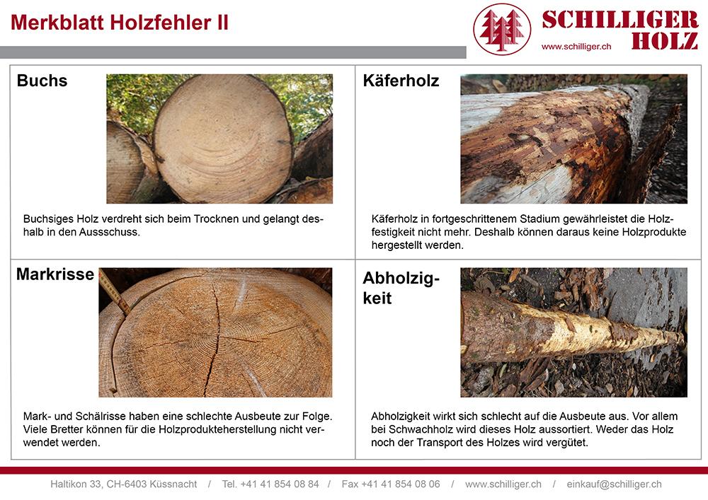 Wir verarbeiten Holz mit und ohne Astigkeit.